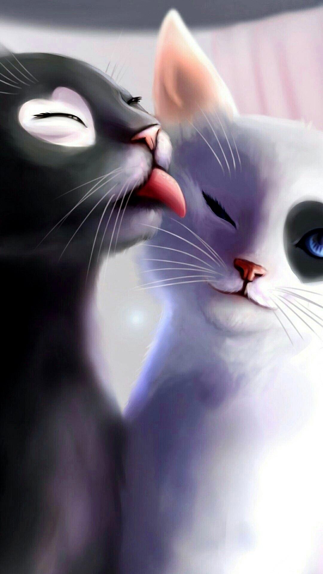 Про, открытки для вацап про кошек
