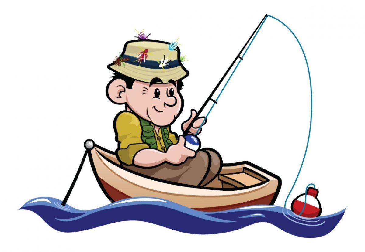 вот одного рыболов в картинках смешная подборка