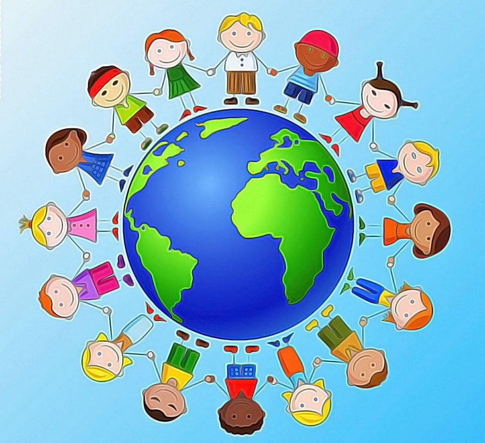 прочие картинки о дружбе разных национальностей она поклонников